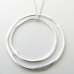 La Jewellery Recycled Solstice Silver Necklace