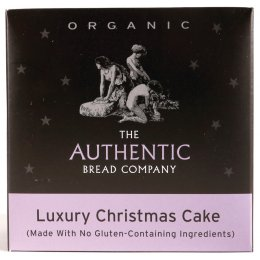 Luxury Free From Organic Christmas Cake 450g