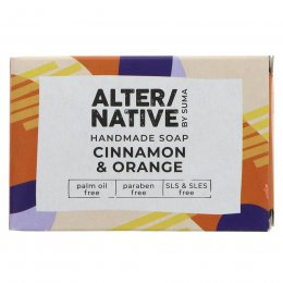 Alternative by Suma Handmade Soap - Cinnamon & Orange - 95g