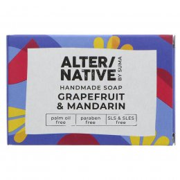 Alternative by Suma Handmade Soap - Grapefruit & Mandarin - 95g