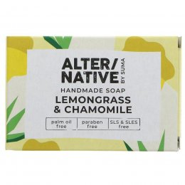 Alternative by Suma Handmade Soap - Lemongrass & Chamomile - 95g