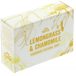 Suma Handmade Natural Soap - Lemongrass & Chamomile - 95g