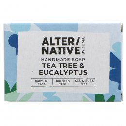 Alternative by Suma Handmade Soap - Tea Tree & Eucalyptus - 95g