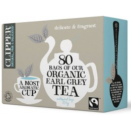 Clipper Organic Earl Grey Tea - 80 Bags