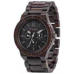 WeWOOD Kappa Black Wooden Watch
