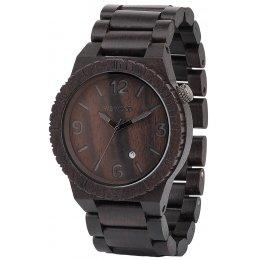 WeWOOD Alpha Black Wooden Watch