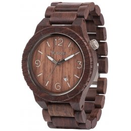 WeWOOD Alpha Chocolate Wooden Watch