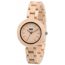 WeWOOD Beige Mimosa Wooden Watch