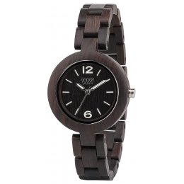 WeWOOD Black Mimosa Wooden Watch