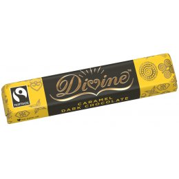 Divine Dark Chocolate Caramel Bar - 40g