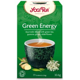 Yogi Organic Green Energy Tea - 17 Bags