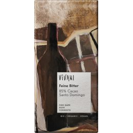 Vivani Organic 85 percent  Dark Chocolate - 100g