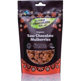 The Raw Chocolate Co Raw Chocolate Covered Mulberries - 125g