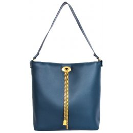 Wilby Drayton Navy Chain Tote