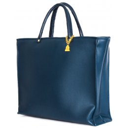 Wilby Drayton Navy Drop Tote