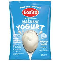 EasiYo Natural Yoghurt - 140g