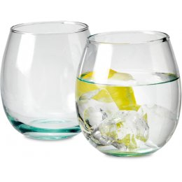 Premium Recycled Glass Tumblers - Set of 4