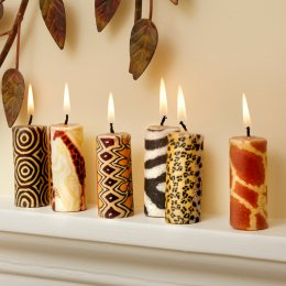 African Mini Candles