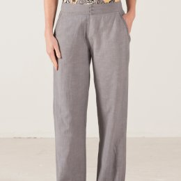 Nomads Textured Cotton Trousers