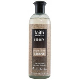 Faith In Nature Mens Ginger & Lime Shampoo - 400ml test