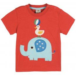 Frugi Little Ollie Applique T-Shirt