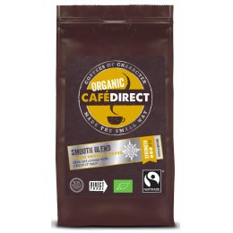 Cafedirect Fair Trade Organics Roast & Ground - Smooth Blend - 227g