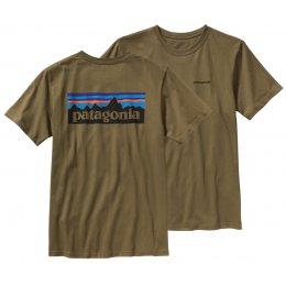 Patagonia Logo T-Shirt - Green  test