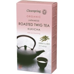 Clearspring Kukicha; Roasted Twig Tea - 20 Bags