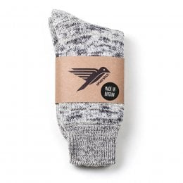 Happy Hiking Wool Socks - Dove Marl