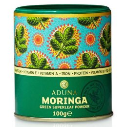 Aduna 100 percent  Organic Moringa Superleaf Powder - 100g