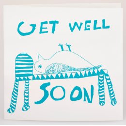 Arthouse Meath Charity Get Well Soon Owl Card