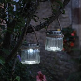 Smart Solar Decorative Cornish Sea Lantern - Pack Of 2