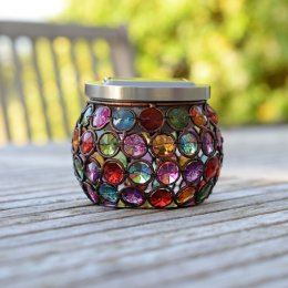 Smart Solar Multi-Glow Gem Jar