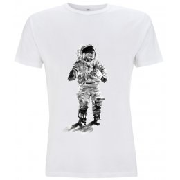 Fair -T Mens Fairtrade Astronaut T-shirt