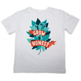 The Fableists Grow Honest Organic Unisex T-Shirt - White