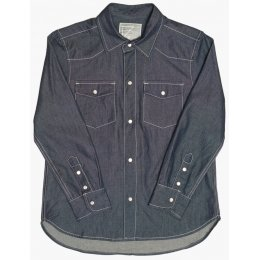 The Fableists Organic Denim Unisex Western Shirt