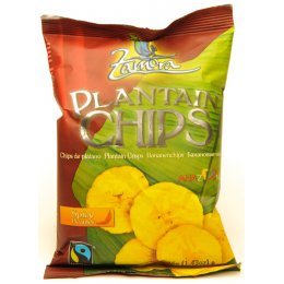 Spicy Fairtrade Plantain Chips - 45g