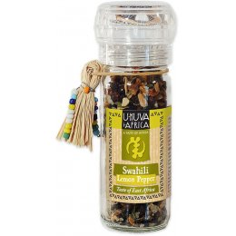 U-KUVA iAFRICA Swahili Lemon Pepper Grinder - 60g