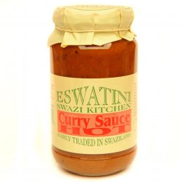 Eswatini Swazi Kitchen Hot Curry Sauce - 275g