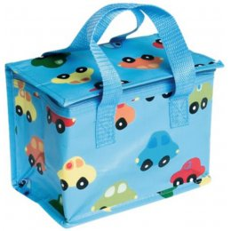 Recycled Lunch Bag Cars