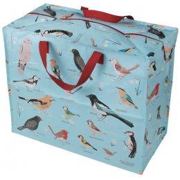 Recycled Jumbo Storage Bag Garden Birds test