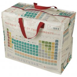 Recycled Jumbo Storage Bag Periodic Table test