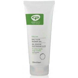 Green People Organic Daily Shower Gel - Aloe - 200ml