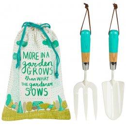 The Thoughtful Gardener Fork & Trowel Set