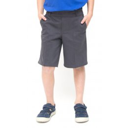 Boys Classic School Shorts - Grey - 3yrs