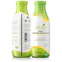 Ovivo Daily Organic Olive Leaf Calendula Infusion Drink - 500ml
