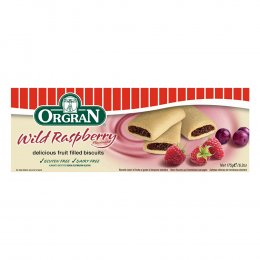 Orgran Fruit Filled Biscuits - Wild Raspberry - 175g