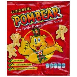 Pom Bear Crisps - Original - 19g test