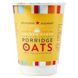 Delicious Alchemy Gluten Free Instant Syrup Porridge Pot - 55g