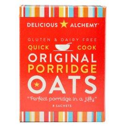 Delicious Alchemy Gluten Free Original Porridge Sachets - 216g test